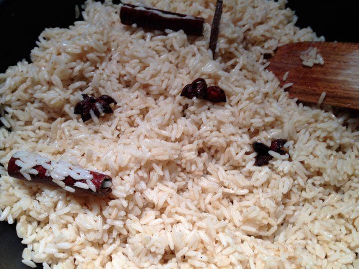 Riz – Pilao de Zanzibar