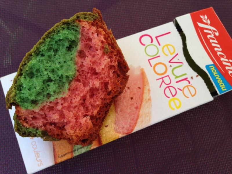 Gâteaux en couleur