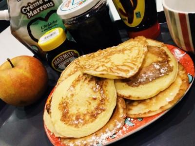 Pancakes Pot de Yaourt