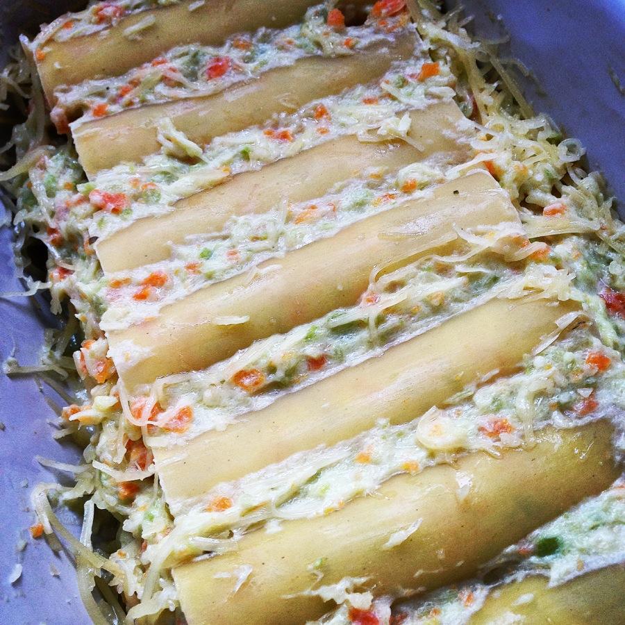 Cannelloni végétariens