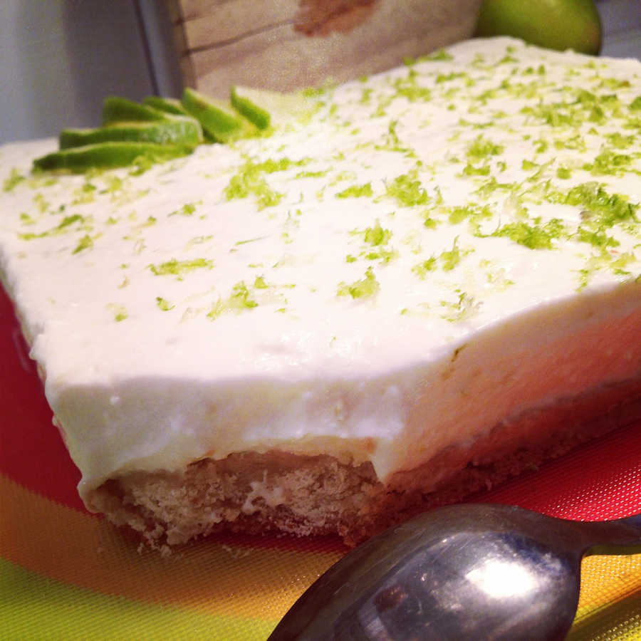 Lime Cheesecake à la faisselle
