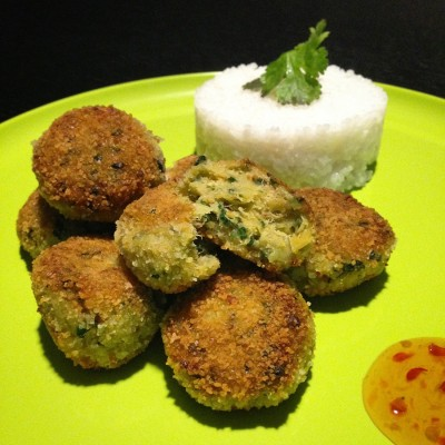 Croquettes de poisson au Satay