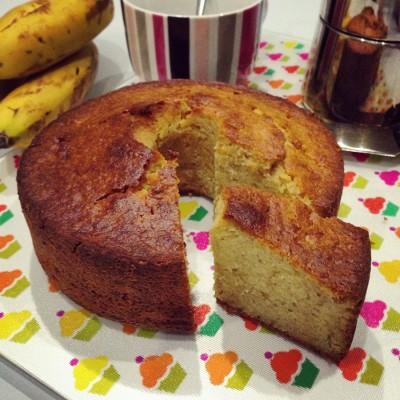 Banana Cake aux amandes