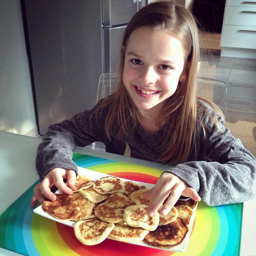 Pancakes soufflés
