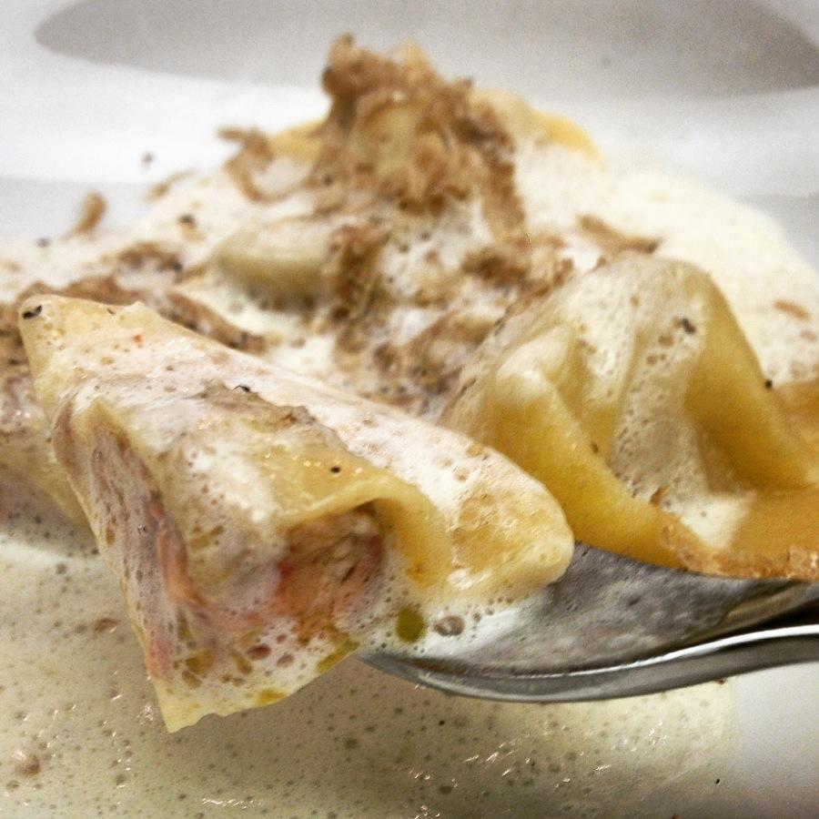 Ravioles de foie gras