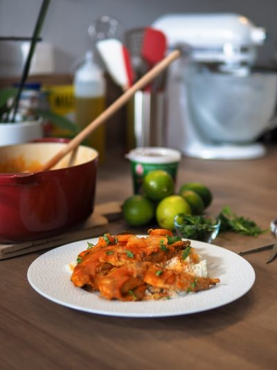 Curry vert de Gigolette de lapin